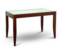 Стол обеденный «Т 001» (бук. со стеклом раздв.)